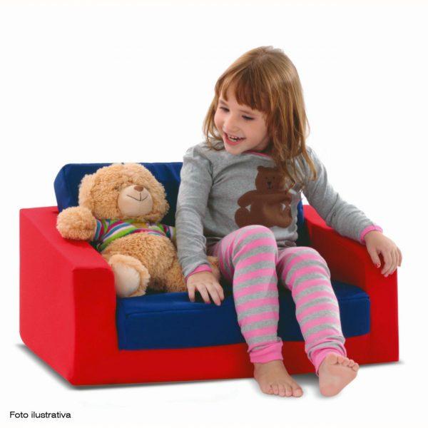 Sofá Cama Infantil com Criança